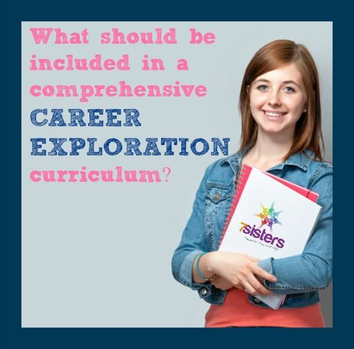 What should be included in a comprehensive Career Exploration curriculum?   7 Sisters Homeschool