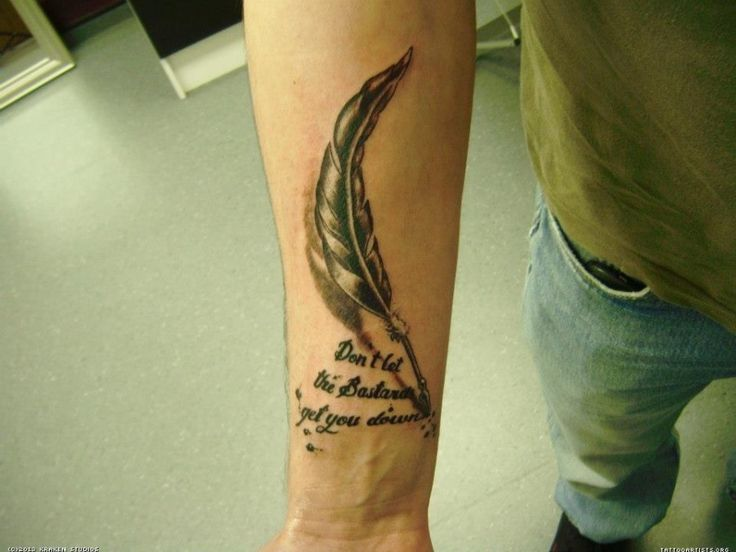 17 best ideas about feather pen tattoo on pinterest good tattoo ideas arm quote tattoos and. Black Bedroom Furniture Sets. Home Design Ideas