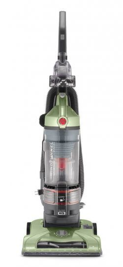 Hoover UH70120 T-Series WindTunnel Rewind Plus Bagless Lighweight Red Upright Vacuum Cleaner, Green