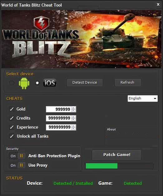 Triks] World of Tanks Blitz HACK - FREE Gold World of Tanks Blitz