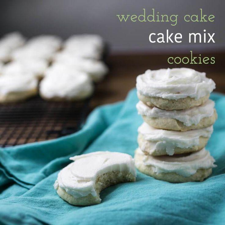 wedding cake white cake mix cookies wedding cake white bakery recipes
