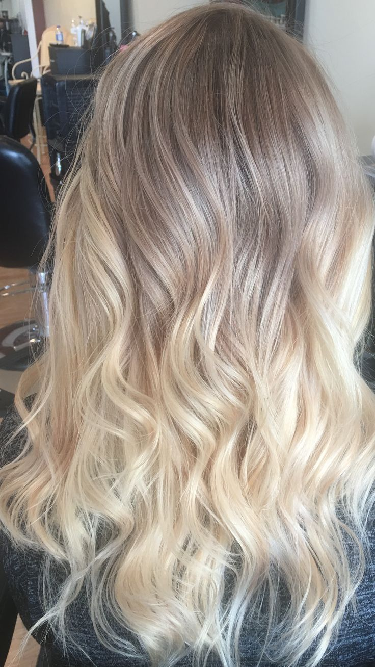 Ombre Blonde Frisuren Ombre Blonde Frisuren Haarfarben Blonde