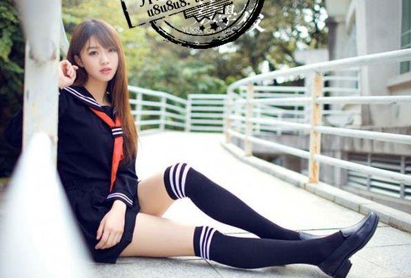 Japanese School Uniform Long-Sleeved Shirt/Skirt[SET] SD00195