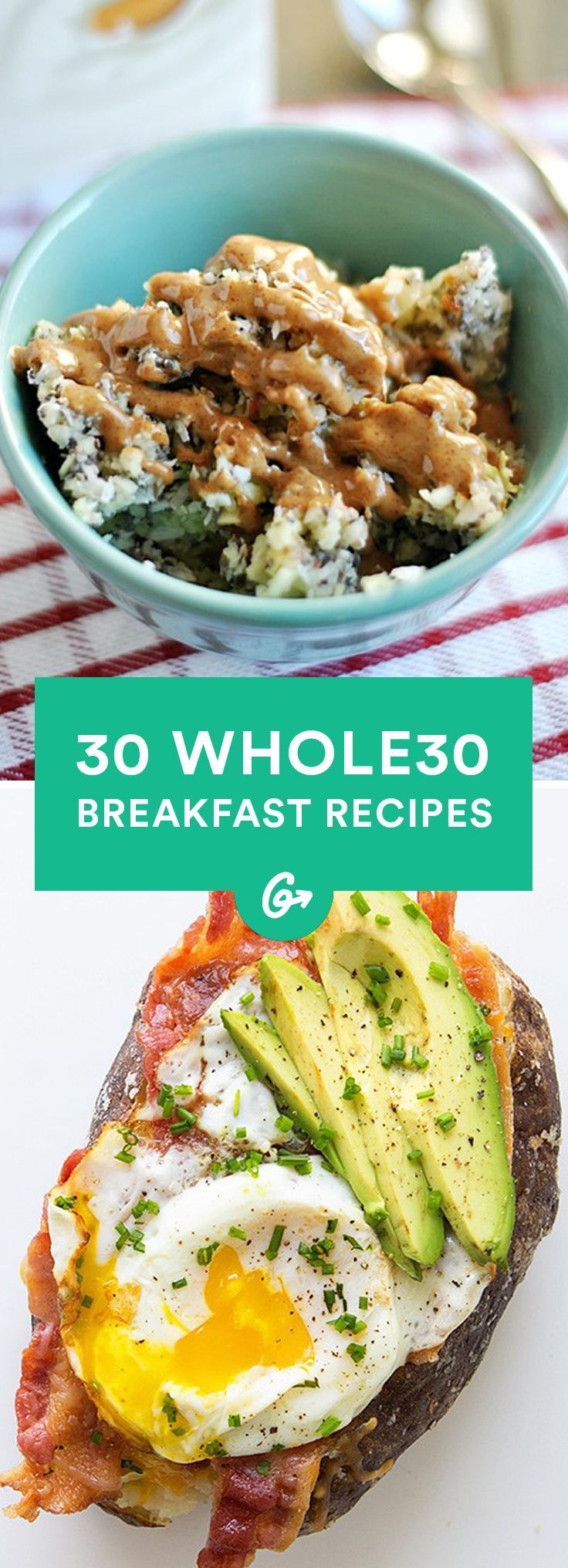 30 Easy and Delicious Whole30 Breakfast RecipesGreatist