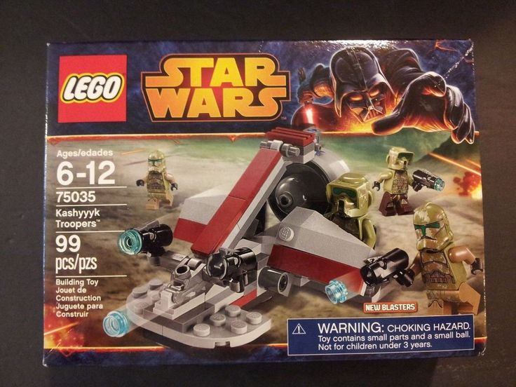 New Lego Star Wars 75035 Kashyyyk Troopers Factory Sealed 99 Pieces in set #LEGO