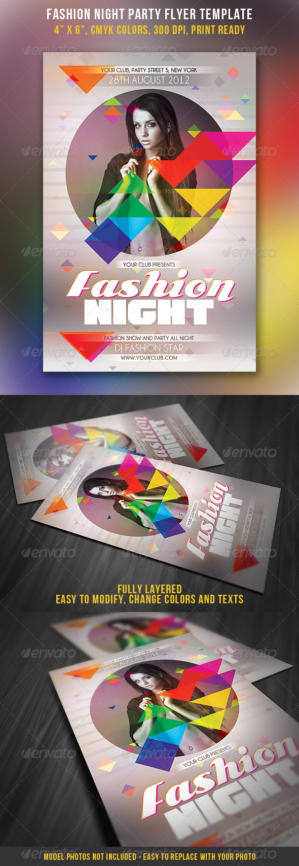 Fashion Night Party Flyer