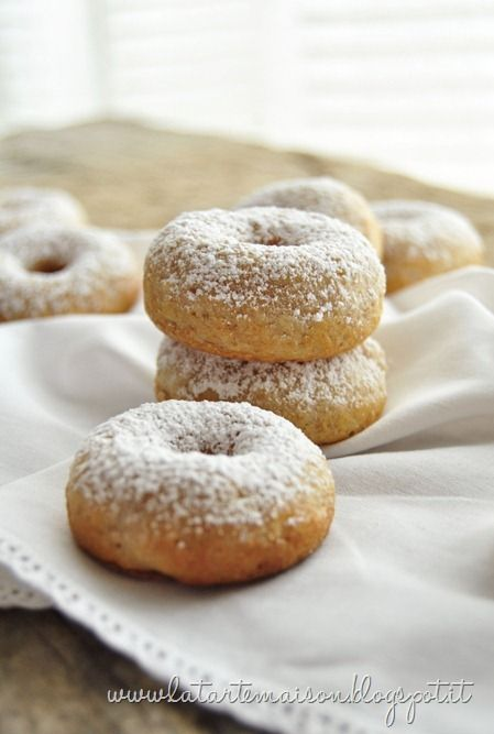 mini donuts allo yogurt