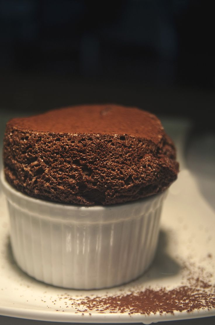 Chocolate Souffle | Desserts | Pinterest