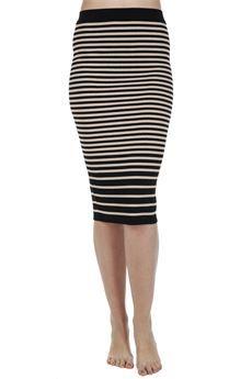Gonna in maglia #Jucca Vita alta #skirt #moda #fashion #bforeshop