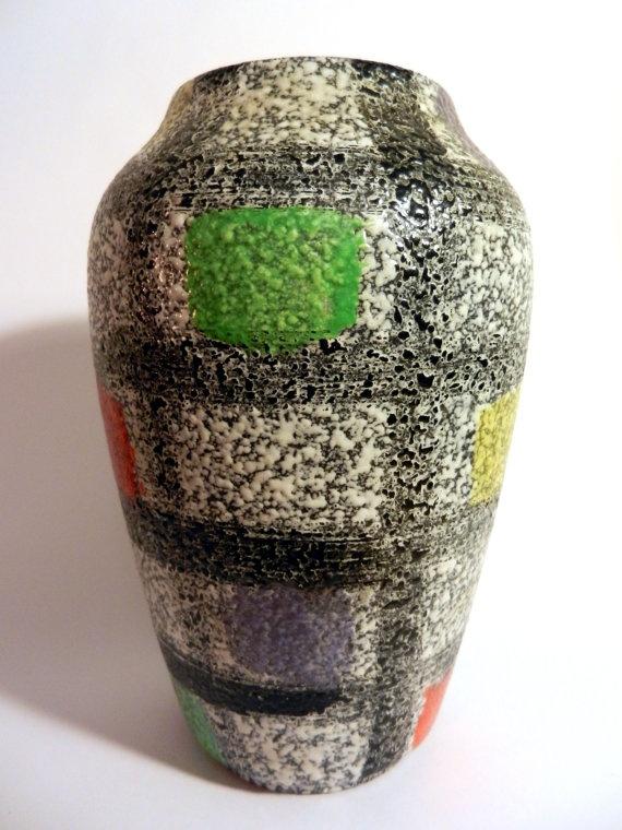 Bay Vase By Bodo Mans Mid Century Studio Pottery And Ceramic