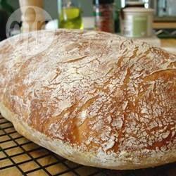 Foto da receita: Pão ciabatta sem sova