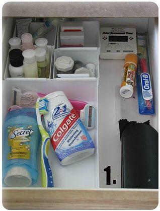 Bathroom Drawer Organization Bathroom Organization And