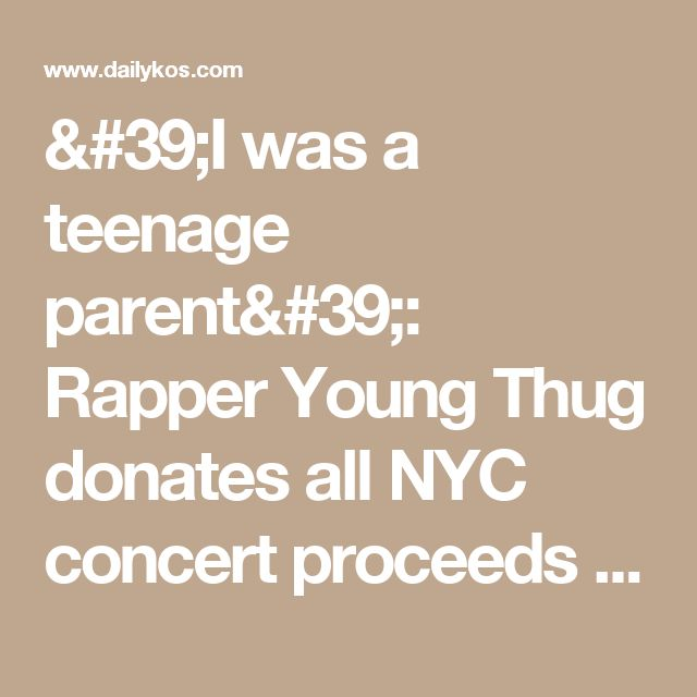 'I was a teenage parent': Rapper Young Thug donates all NYC concert proceeds to Planned Parenthood