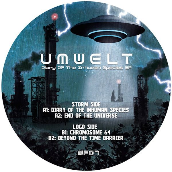 Umwelt ‎Diary Of The Human Species EP Dark Electro Music Artist Underground Music EP Release France 2011 Year Techno Tracks IDM
