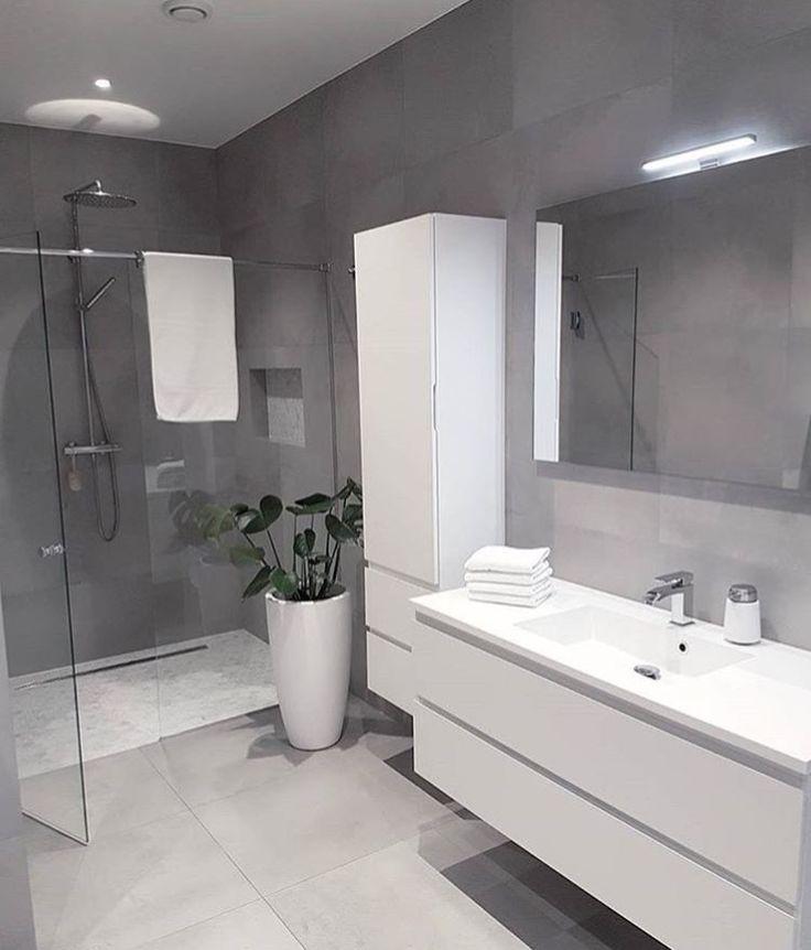 Wit Strak Mooi White Design Glass Grey Bath Bath