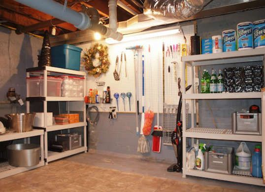 Extra Storage Space  Having an extra floor below grade means you have a lot of potential storage space underfoot. Make the most of your unfinished basement by putting up shelving to store off-season clothing, sporting gear, tools, and more.