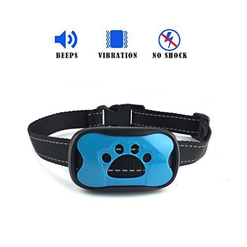TRANSFORM YOUR DOG'S BAD BARKING HABITS WITH GENTLE AND DURABLE WAY Forget yelling and willpower when it is about getting your dog to stop barking. DISCOVER THE NEW HEALTHY HABIT there's No need to shock or hurt your dog. New 2017 model uses sound and vibration to calm down your furry... more details available at https://perfect-gifts.bestselleroutlets.com/gifts-for-pets/for-dogs/product-review-for-no-shock-bark-collar-best-for-dog-training-humane-2017-version-vibra