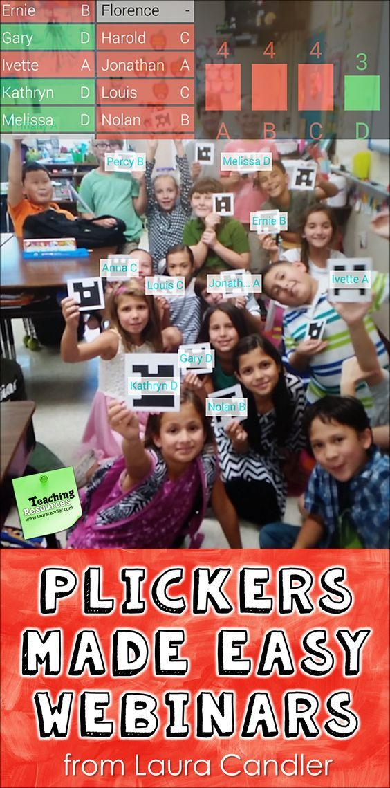 Are you using the free Plickers program with your students yet? Kids love it! Watch these 2 free webinars to learn how to set up the program and some fun, innovative strategies for using it!