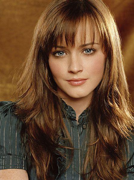 Alexis Bledel... #Anastasia Steele #FiftyShades @50ShadesSource: Fur Coats, Hair Colors, Long Hairstyles, Alexis Bledel, Hair Cut, Layered Hair, Gilmore Girls, Hair Style, Brown Hair