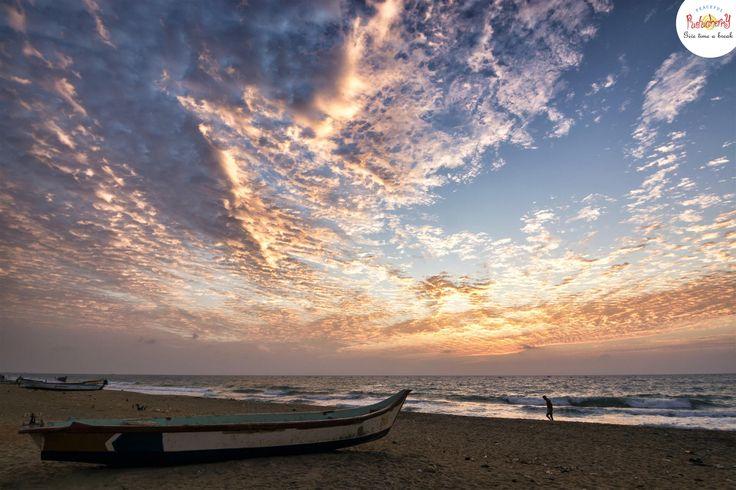 Auro beach #pondy #pondicherry