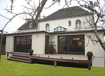 travaux agrandissement de maison en Normandie