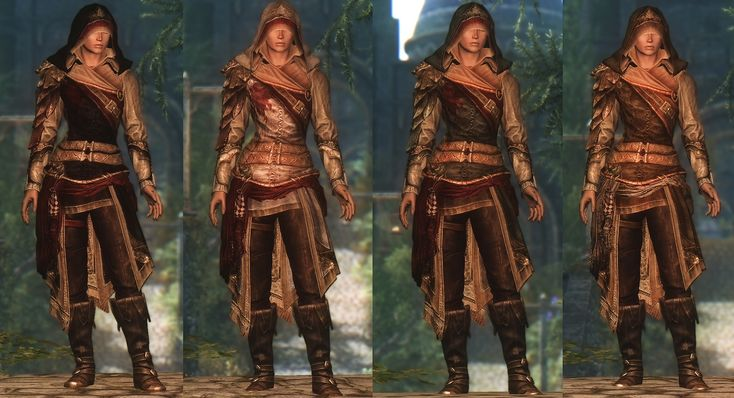 DreamBurrows Regal Huntsman Armor at Skyrim Nexus - mods and community