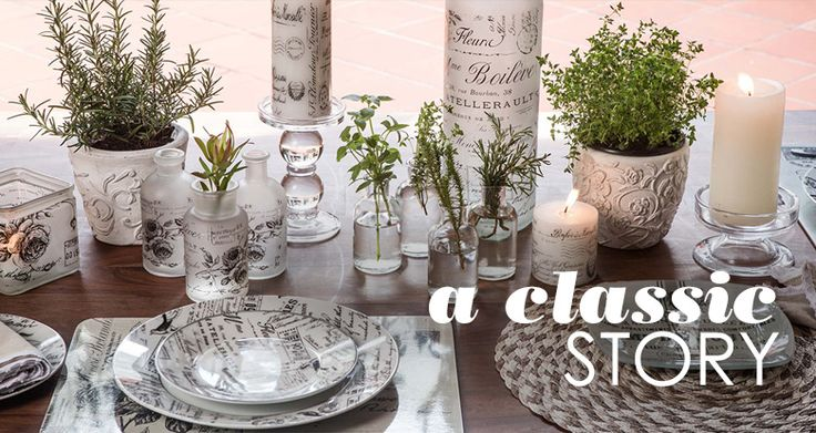 Homeware A Classic Story  by Mr Price Home