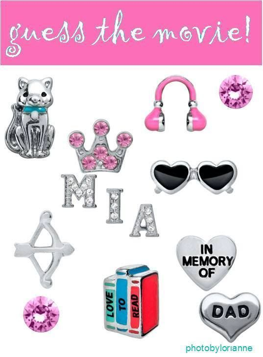 Origami Owl Name That Movie! game. Answer: The Princess Diaries www.facebook.com/tiffanyscharm