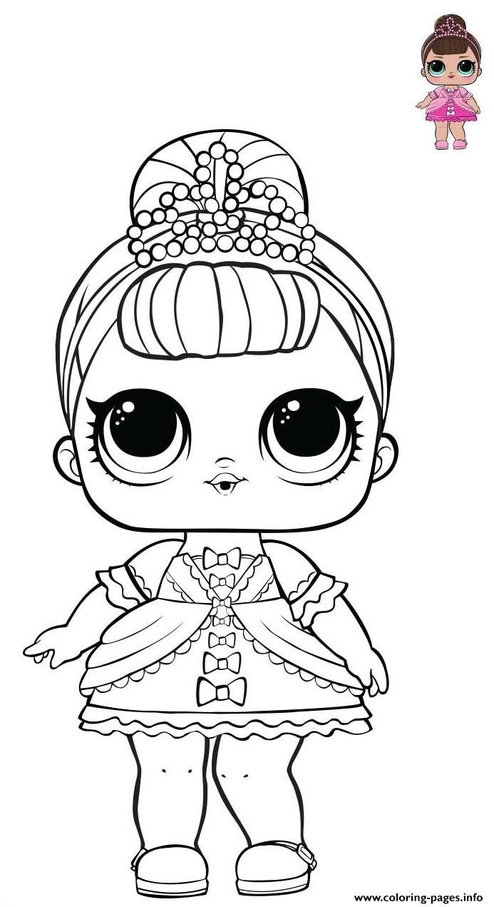 Print Princess Lol Surprise Pink Dress Coloring Pages Coloring Pages Easter Coloring Sheets Coloring Sheets