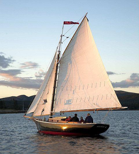 Sail around Mount Desert Island on the world's oldest friendship sloop