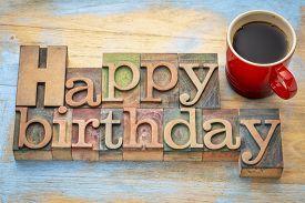 picture of happy birthday - Happy Birthday greeting card  - JPG