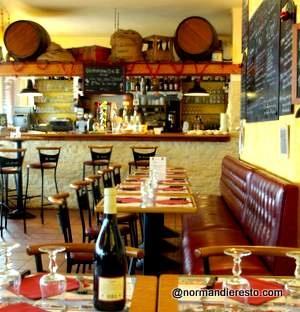 Le Bistrot Saint Nicolas - restaurant Le Havre. Brasserie traditionnelle au décor de bistrot, bar à vin. Cuisine maison.