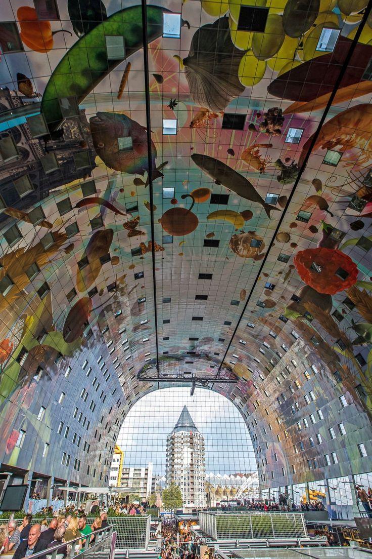 #Markthal #Rotterdam