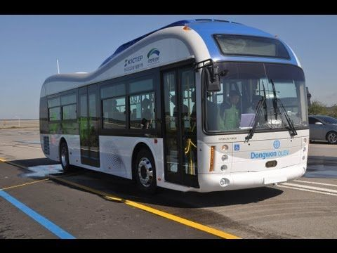 World's First Road Embedded Wireless Electric Bus Network