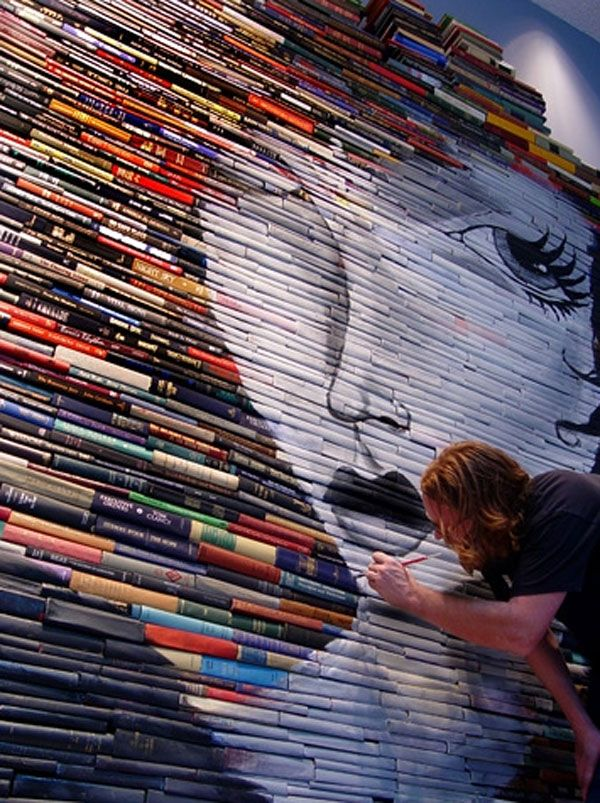 Incredible Book Paintings (11) 6