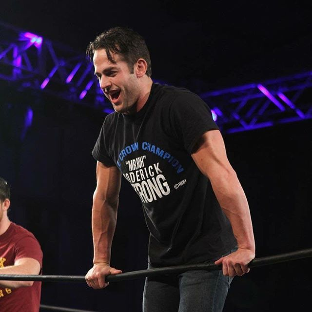 Roderick Strong #ringofhonor #prowrestling