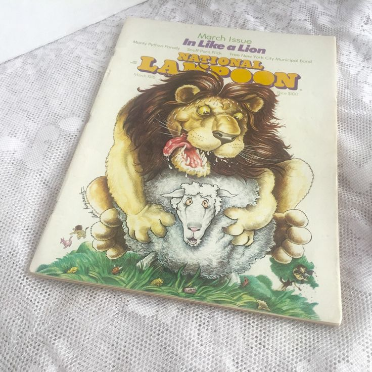 National Lampoon Magazine March Issue 1976 by vintagepoetic on Etsy