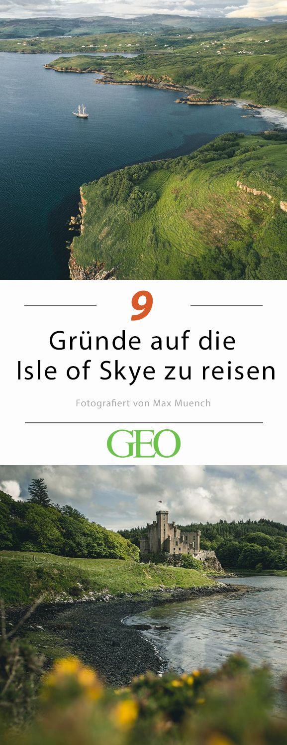 Wenn Instagrammer und Fotograf Max Muench eine Reise macht, dann entstehen dabei meistens imposante Aufnahmen. Ein ganz besonderes Zusammenspiel aus Naturgewalten und seiner Fotografie hat eine Reise auf die Isle of Skye ergeben. Wir zeigen eine Auswahl der Bilder