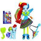 My Little Pony Equestria Girls Rainbow Rocks Doll & Pony Set Rainbow Dash Doll