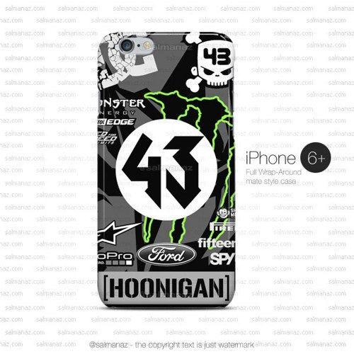 Ken Block 43 Hoonicorn Monster Mustang iPhone 6 Plus Case
