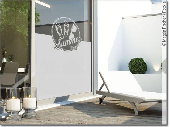 Fensterfolie Summer Time Fensterfolie Haus Deko Und Fenster