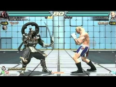 120317 a-cho 鉄拳TAG2 2on2大会終了後 野試合 - YouTube