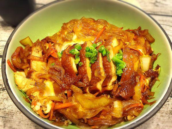 日式照燒雞排丼飯