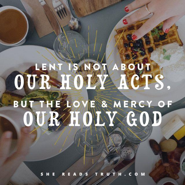 Best post on Lent I've ever read.