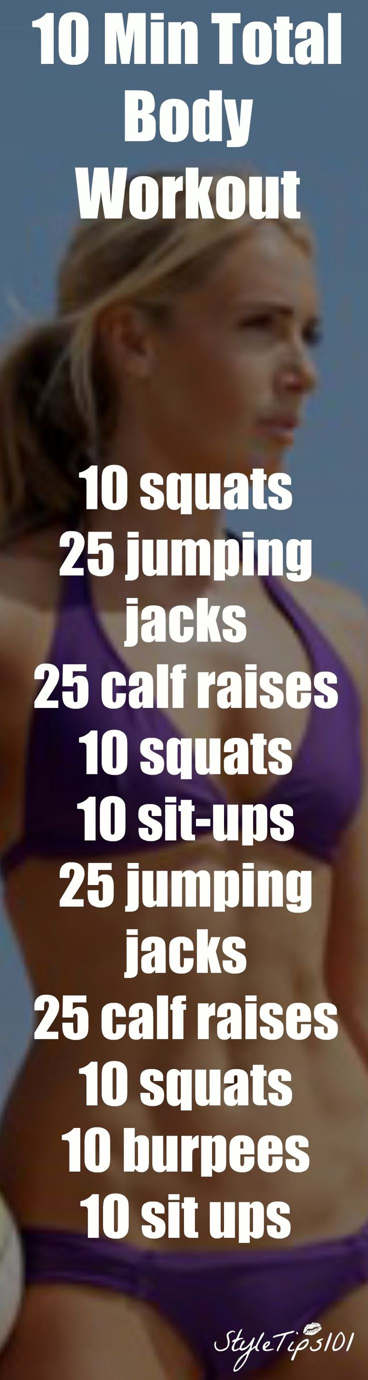 This 10 minute total body workout will completely transform your body!