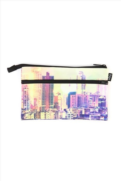 THE CITY typo pencil case