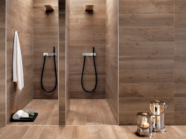 1000 id es sur le th me salle de bains avec parquet sur for Carrelage imitation parquet salle de bain