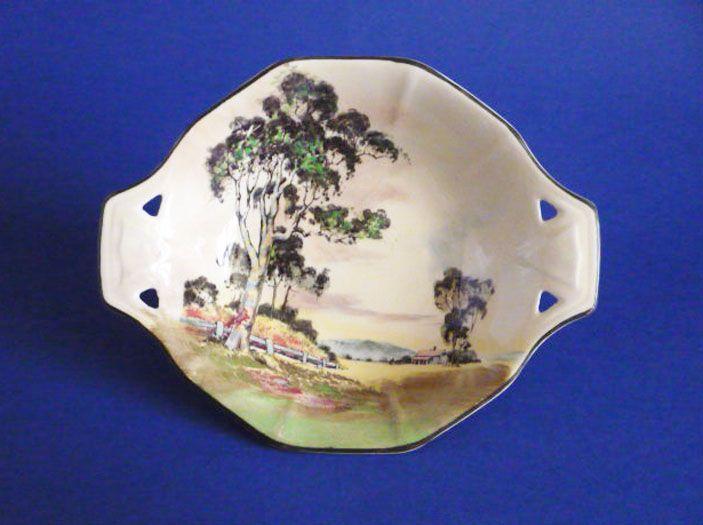 Royal Doulton Australian 'Gum Trees' Series 'A' Dish D5506 c1935