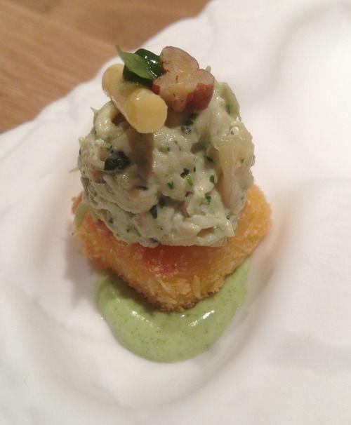 Paxta Japanese Peruvian in Barcelona Chicken salad causa with tarragon ...
