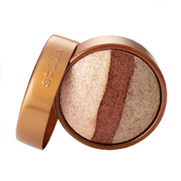 Stila Eye Shadow Trio Pan, Champagne Glow | Get the perfect eyeshadow for your brown eyes at Beauty.com.